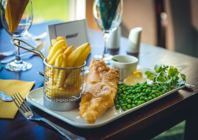 Food at the Bells Hotel and County Club